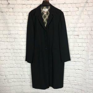 Studio I Black Duster Trench Blazer Jacket
